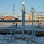 ГНСС станция на месторождении п.Саббета_Ямал