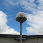 Крепление антенны ГНСС станции