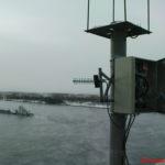 Система ГНСС мониторинга на мосту через р. Енисей